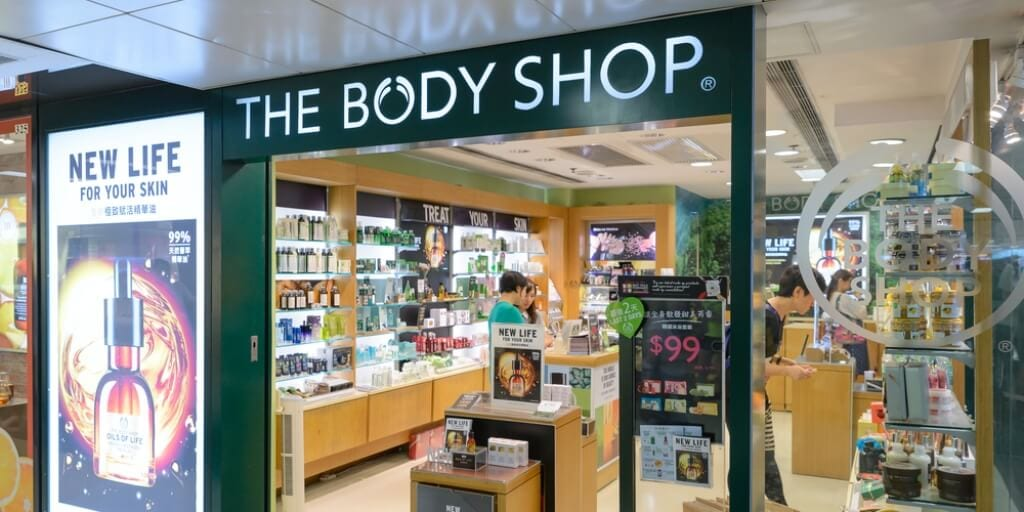 British beauty brand The Body shop will be 100% vegan by 2023