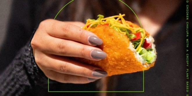 Taco Bell is testing a vegan chalupa shell to cater to the 'veggie-curious'