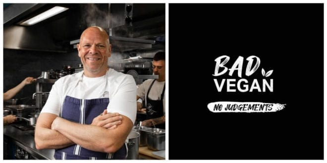 Tom Kerridge's 'fundamentally vegan' fast-food restaurant set to open this month