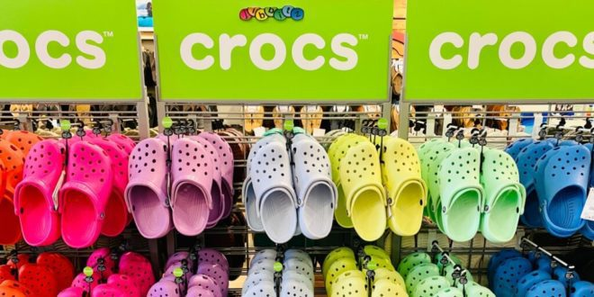 Footwear brand Crocs pledges to go vegan to hit net zero by 2030
