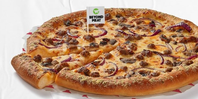 Pizza Hut UK launches 3 plant-based Beyond Meat pizzas but they are 'not suitable for vegans'