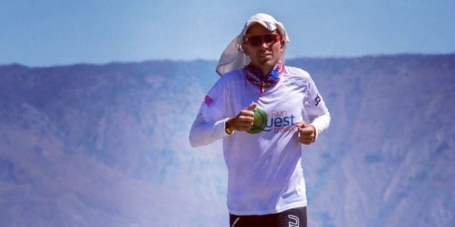Vegan ultrarunner won 'world's toughest footrace' for the second time